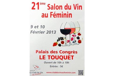Salon du vin au f minin palais des congr s du touquet for Salon du vin nice