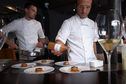 Accords mets et vins champagne et cuisine toil e for Accords mets vins cuisine