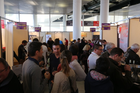 Le languedoc en force au salon terre de vins de for Salon vin montpellier