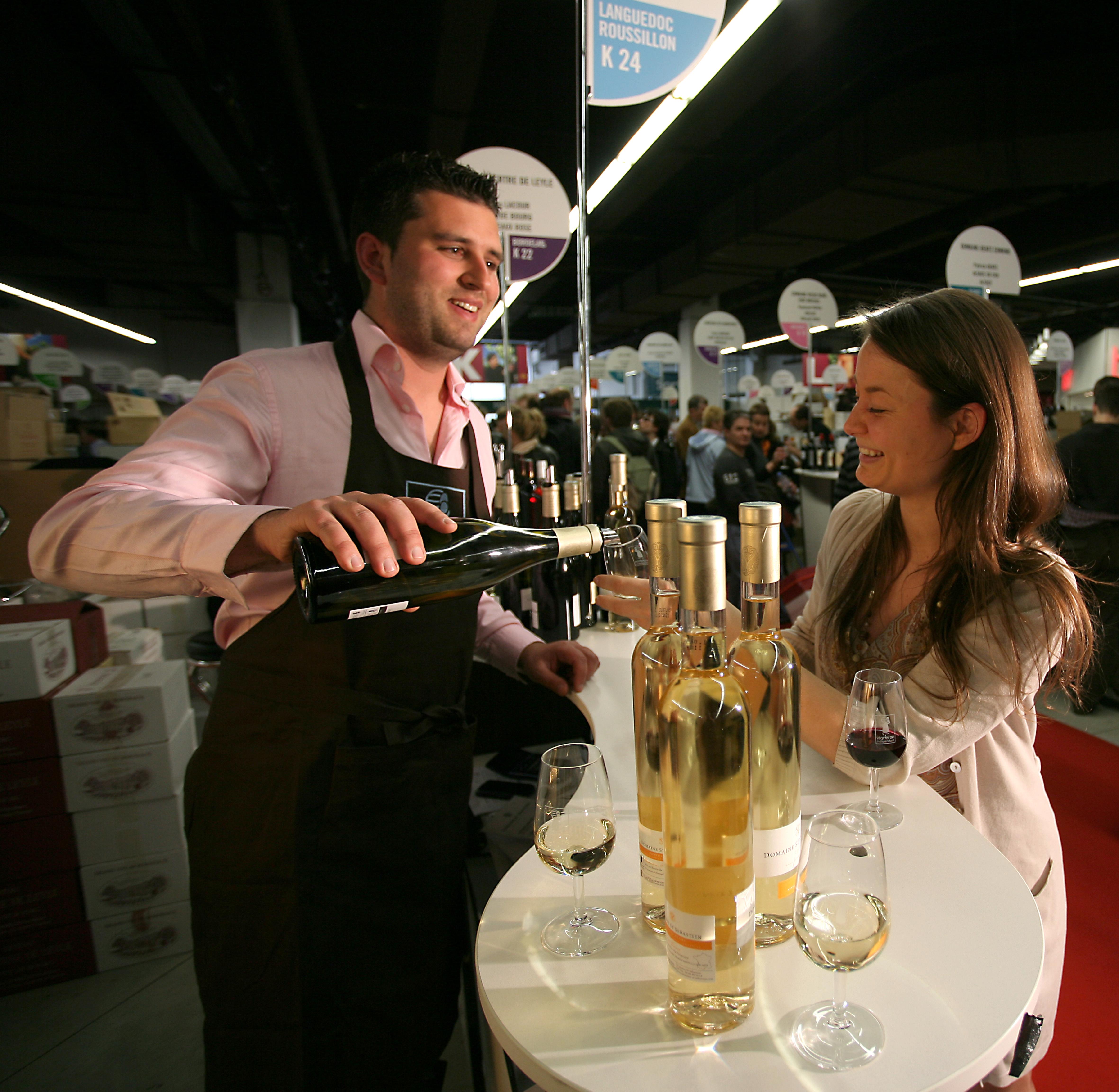 Salon des vins des vignerons ind pendants de lille 59 for Salon de lille