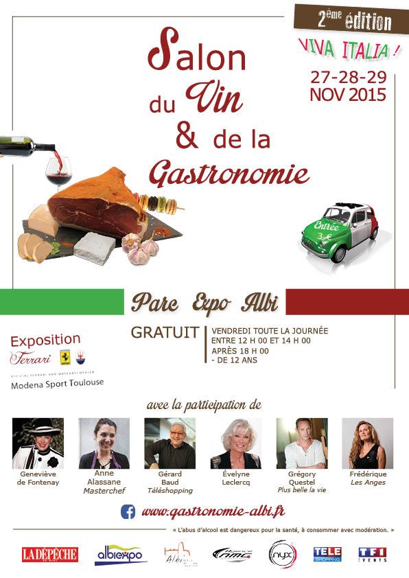 Salon du vin et de la gastronomie albi 2015 terre de vins - Salon des vins la verpilliere ...