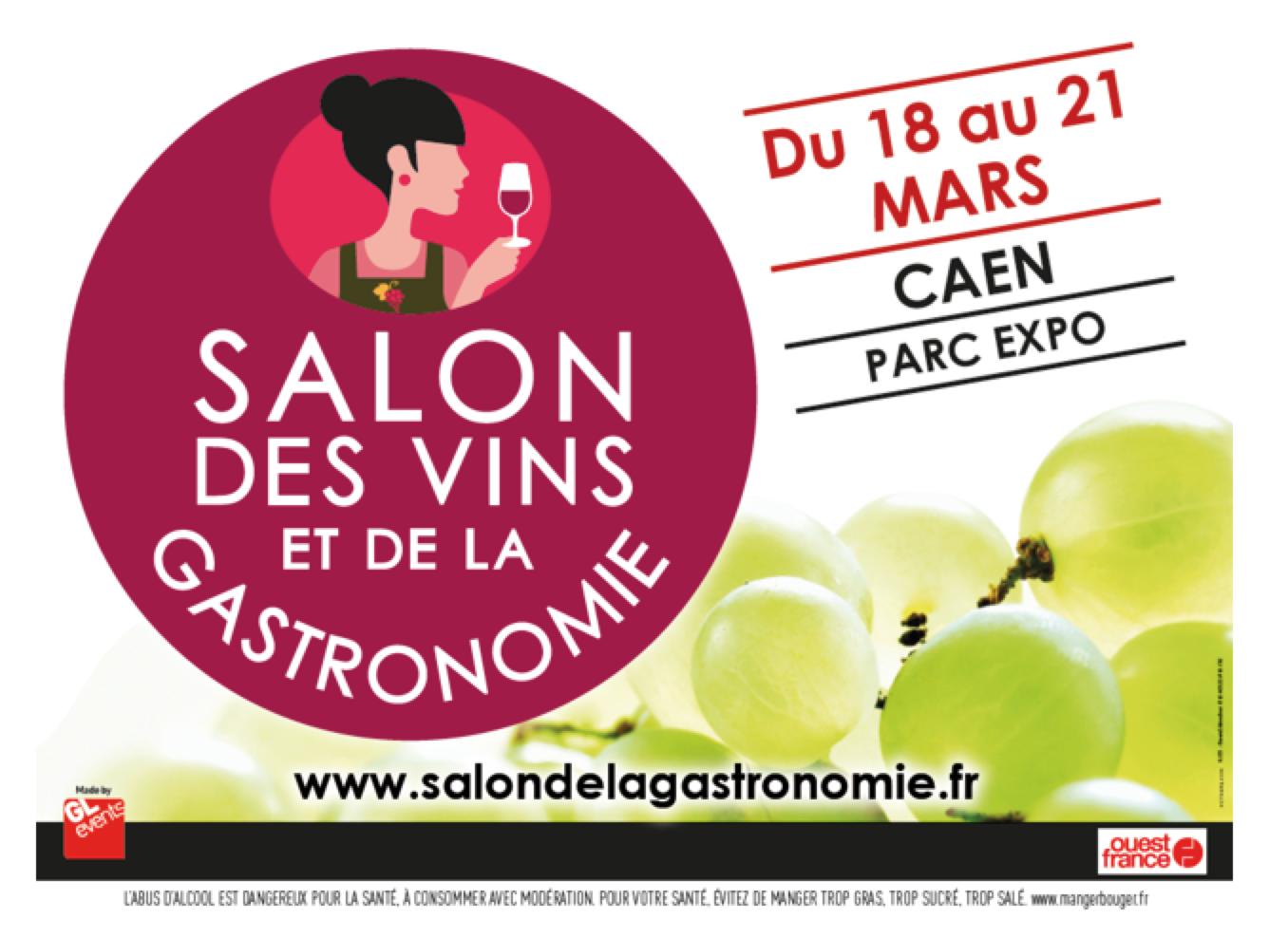 Salon des vins et de la gastronomie du caen terre de vins for Calendrier salon des vins