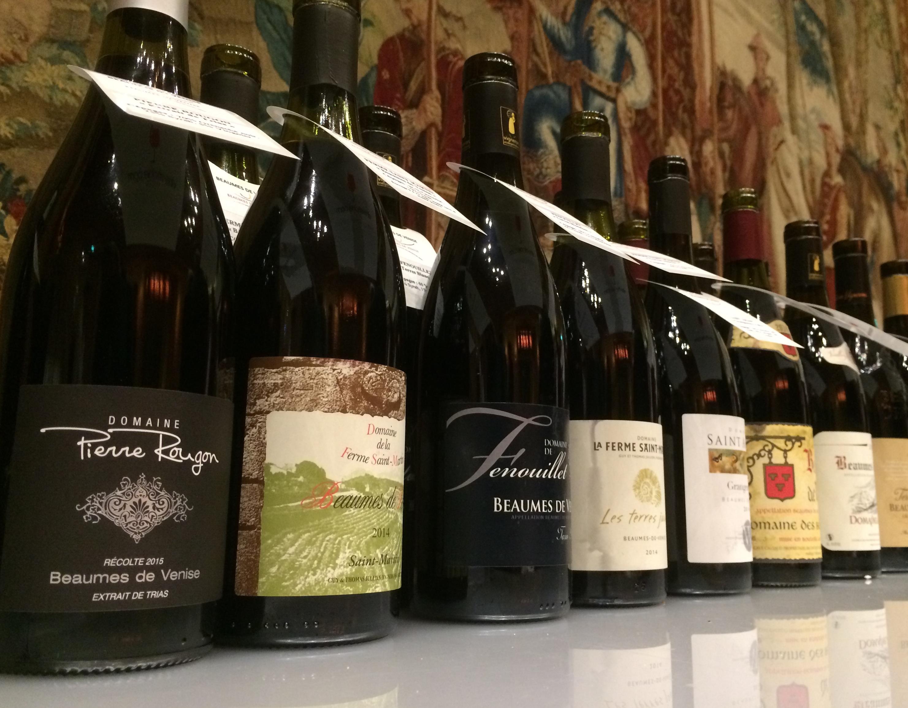 beaumes de venise vin rouge