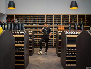 Éric Carrière, entretien foot et vin