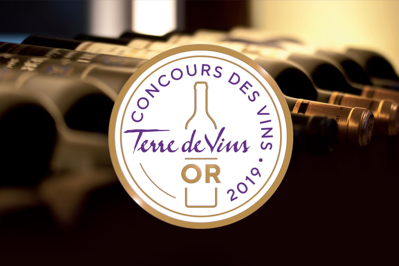 Image result for medaille d or concours terre des vins
