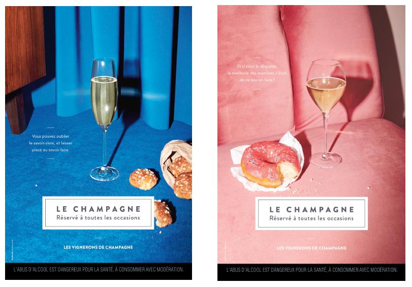 Communication : Champagne, des plaisirs