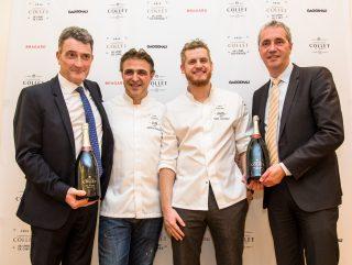 Deux lauréats pour le Prix Champagne Collet du livre de chef
